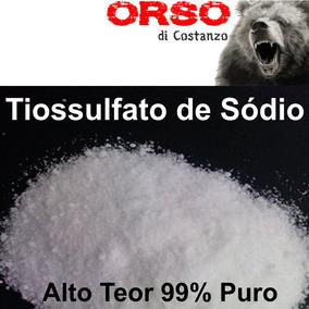 Tiossulfato De Sódio (hipossulfito De Sódio) 1 Kg