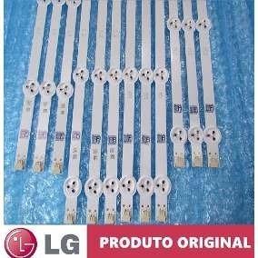 Kit Barras Led Tv Lg 47la6200 47la6210 47la6204 Aluminio