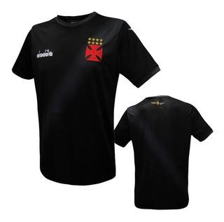 Camisa De Aquecimento Do Vasco Diadora 2018