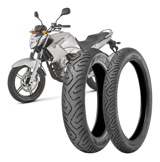 2 Pneu Moto Fazer 250 130/70-17 62s 100/80-17 52s Sport
