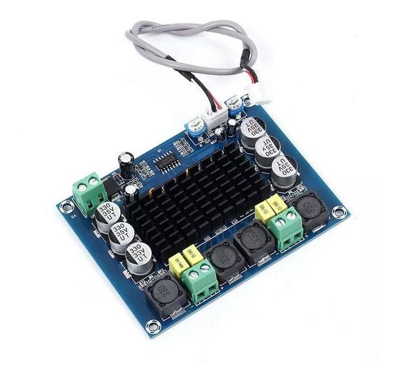 Placa Amplificadora 100w Tpa3116d2 50w + 50w 12v 24v Módulo