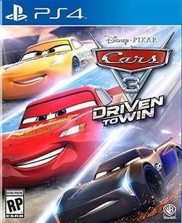 Cars 3: Driven To Win Ps4 Nuevo Fisico Sellado