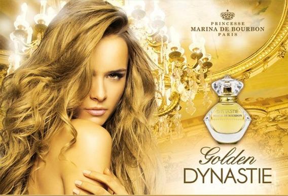 Golden Dynastie 50ml Marina De Bourbon Edp Original
