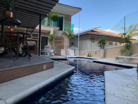 Casa Com 5 Dormitórios À Venda, 602 M² Por R$ 3.600.000,00 - Piratininga - Niterói/rj - Ca0330