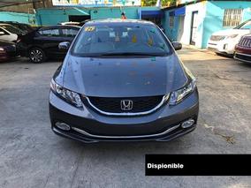 Honda Civic Lx 15 Gris