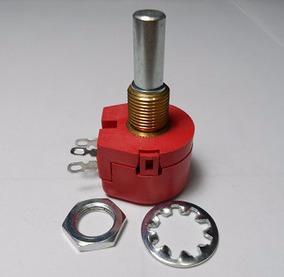 Abw1 10k - Potenciômetro Fio Linear 1 Volta 10k, 1 W, ± 10%