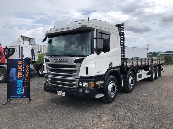 Scania P 310 8x2 Ano 2013 Bitruck Carr Opticruise 24280 2429