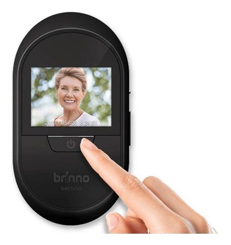 Camera Segurança Olho Magico Porta Tela Lcd Brinno Shc500