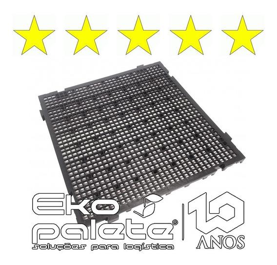7 Uni Piso Estrado Plástico 50x50x3 Pallet Cámara Fria