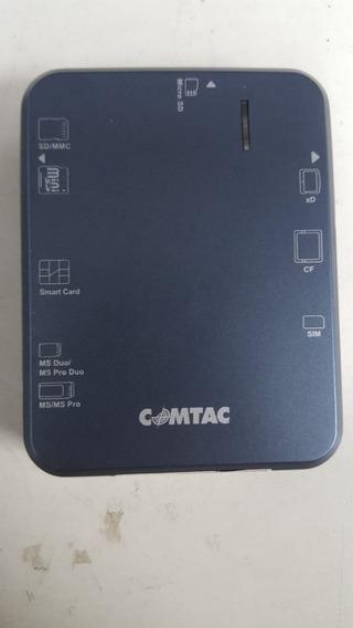 Leitora Usb De Smart Card E Cartão De Memória