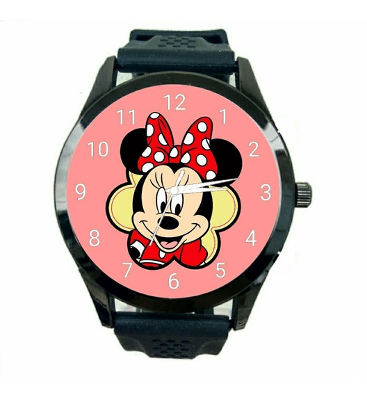 Relógio Minnie Mouse Feminino Novo Barato Qualidade Fc T362