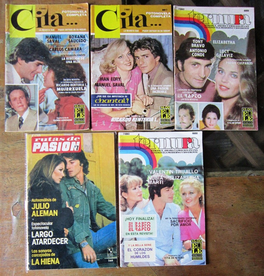 Fotonovela Cita Y Cita De Lujo 11 Revistas 40.00 C/u