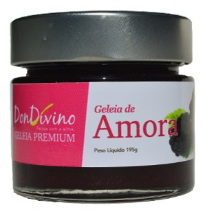 Imagem 1 de 1 de Geleia De Amora 190g  - Don Divino