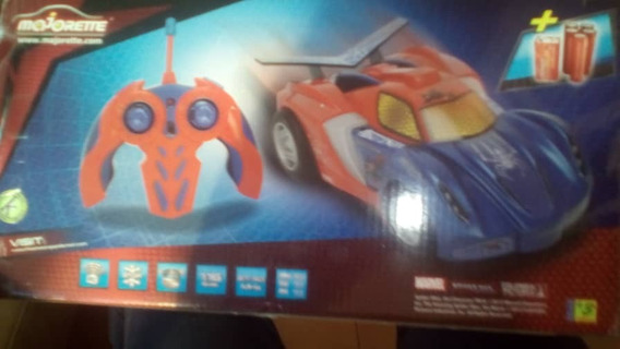 Majorette Rc Spiderman Web Racer Scale 1:16 10 U$s