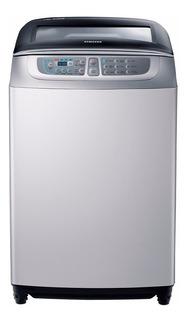 Lavarropas Samsung Carga Superior Tambor Acero 8 Kg. Plata