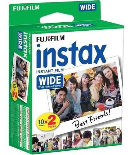 Película Instántanea Fujifilm Instax Wide (20 Hojas)