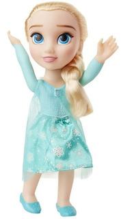 Boneca Articulada 37cm Elsa Disney Frozen Mimo 6485