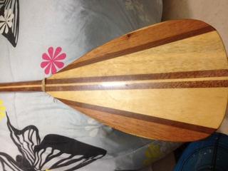 Remo Stand Up Paddle Em Madeira, Leve E Forte