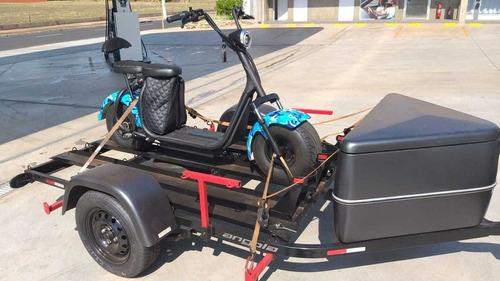 Scooter Harley Moto Eletrica 1500wats Pronta Entrega A Vista