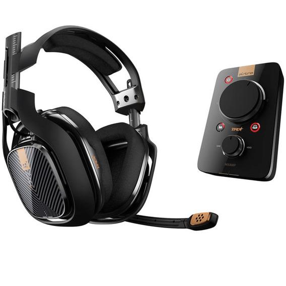 Audífono Astro A40tr Headset + Mixam Pro Tr Para Ps4 Negro