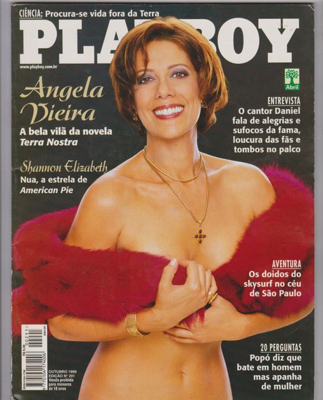 Angela Vieira Na Revista Playboy / N° 225447