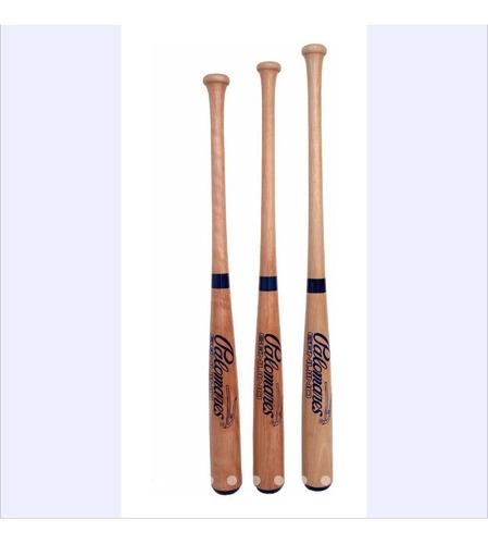Imagen 1 de 1 de Bat Beisbol Madera #3,4 O 5y Pelota De Regalo Palomares Fpx