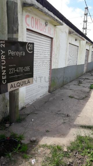 137 Y 90. Local En Alquiler, Los Hornos.-
