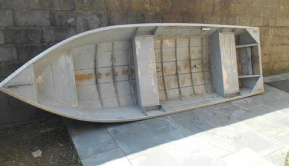 Barco Canoa De Alumínio De 4 Metros - Muito Leve - Usado