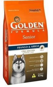 Ração Golden Formula Cães Sênior Frango 15kg