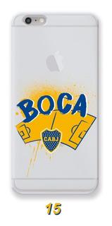 Funda Boca Juniors Cancha Huawei Mate 7