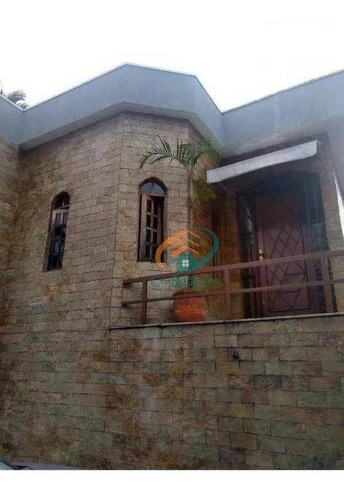 Sobrado Com 5 Dormitórios À Venda, 500 M² Por R$ 1.700.000,00 - Vila Augusta - Guarulhos/sp - So0245