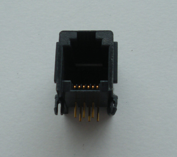 Conector Jack Coupler Rj-12 Hembra Conector Pcb