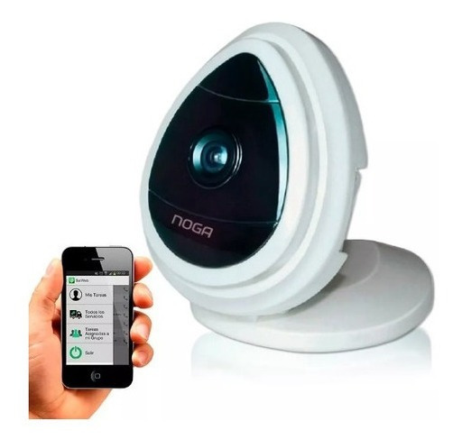 Camara Ip Inalámbrica Noga 720 Hd Wifi Smartphone Tablet Pc