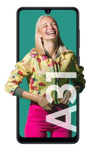 Celular Smartphone Samsung Galaxy A31 A315g 128gb Preto - Dual Chip
