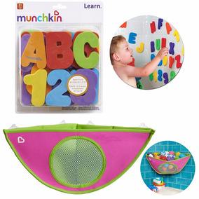 Organizador P Brinquedos + Letras E Números P Banho Munchkin