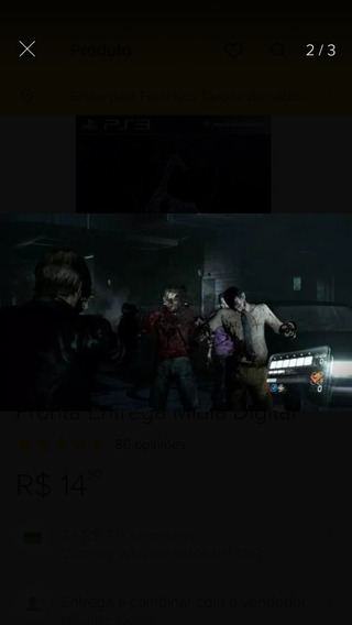Resident Evil 6 Ps3 Mídia Digital