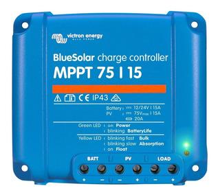 Controlador De Carga Solar Victron Blue Solar Mppt 75/15