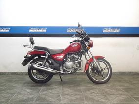 Haojue Suzuki Chopper Road 150 Vermelha 2019