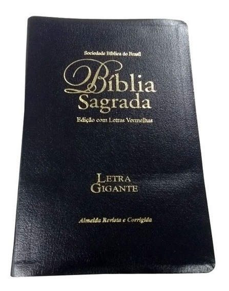 Bíblia Sagrada Preta