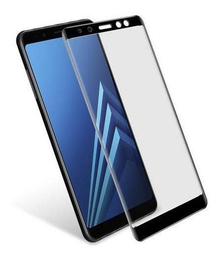 Pelicula De Vidro 5d Para Samsung A8 2018 Tela Inteira