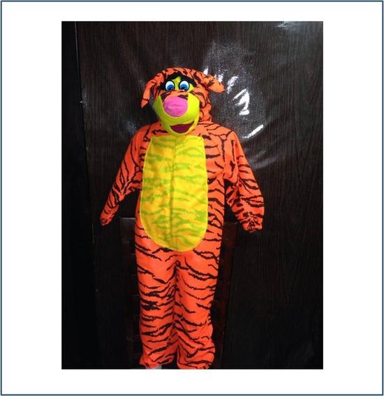 Disfraz De Tigre Para Niño Talla #4 6 Y 10 R