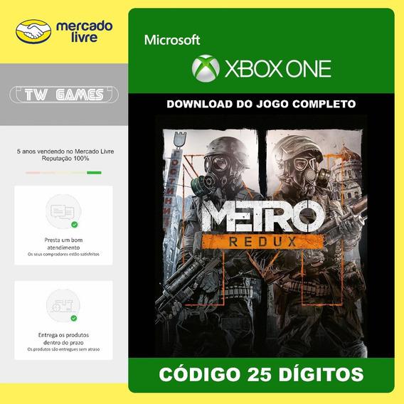 Metro Redux Bundle Codigo 25 Digitos Original Xbox One