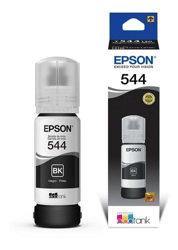 Botella De Tinta Epson 544 T544120 Negro