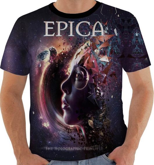 Camiseta 1963 Épica Band Metal Sinfônico Simone Simons 4
