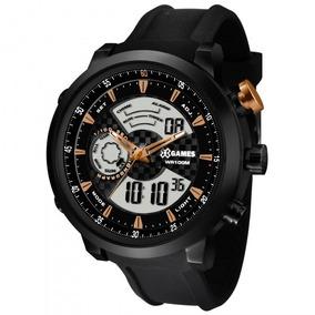 Relógio Xgames Xmspa017 P2px Xteel Masculino Preto- Refinado