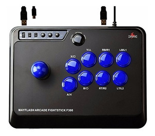 Mayflash F300 Control Arcade Fightstick Ps4 Xbox One Pc Mas