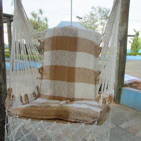 Rede Cadeira Poltrona De Balanço Teto Balança Suspensa