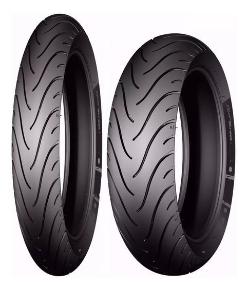Par Pneu 80/90-17 80/110-14 Michelin Street Biz 125 Pop 110