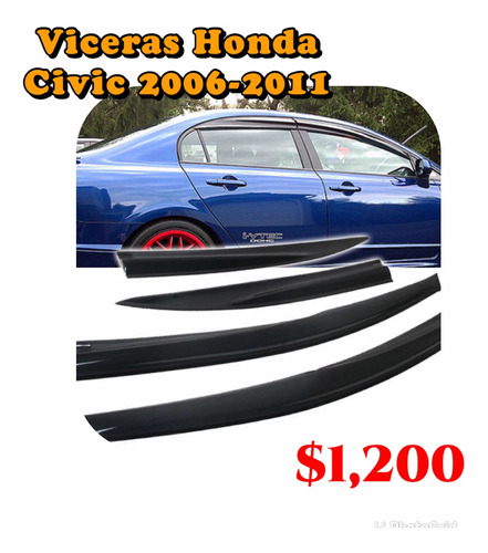 Viceras Honda Civic 2006-2011 Nuevas