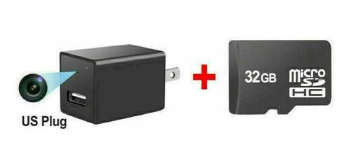 Mini Camara Espia Cargador Wifi Ip Hd 1080p